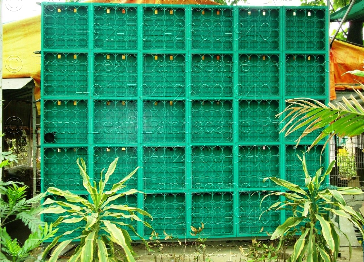 Garden Landscape Design Delhi : Green walls vertical gardens delhi india biovertical garden